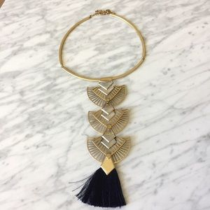Stella and Dot Aida Tassel Necklace